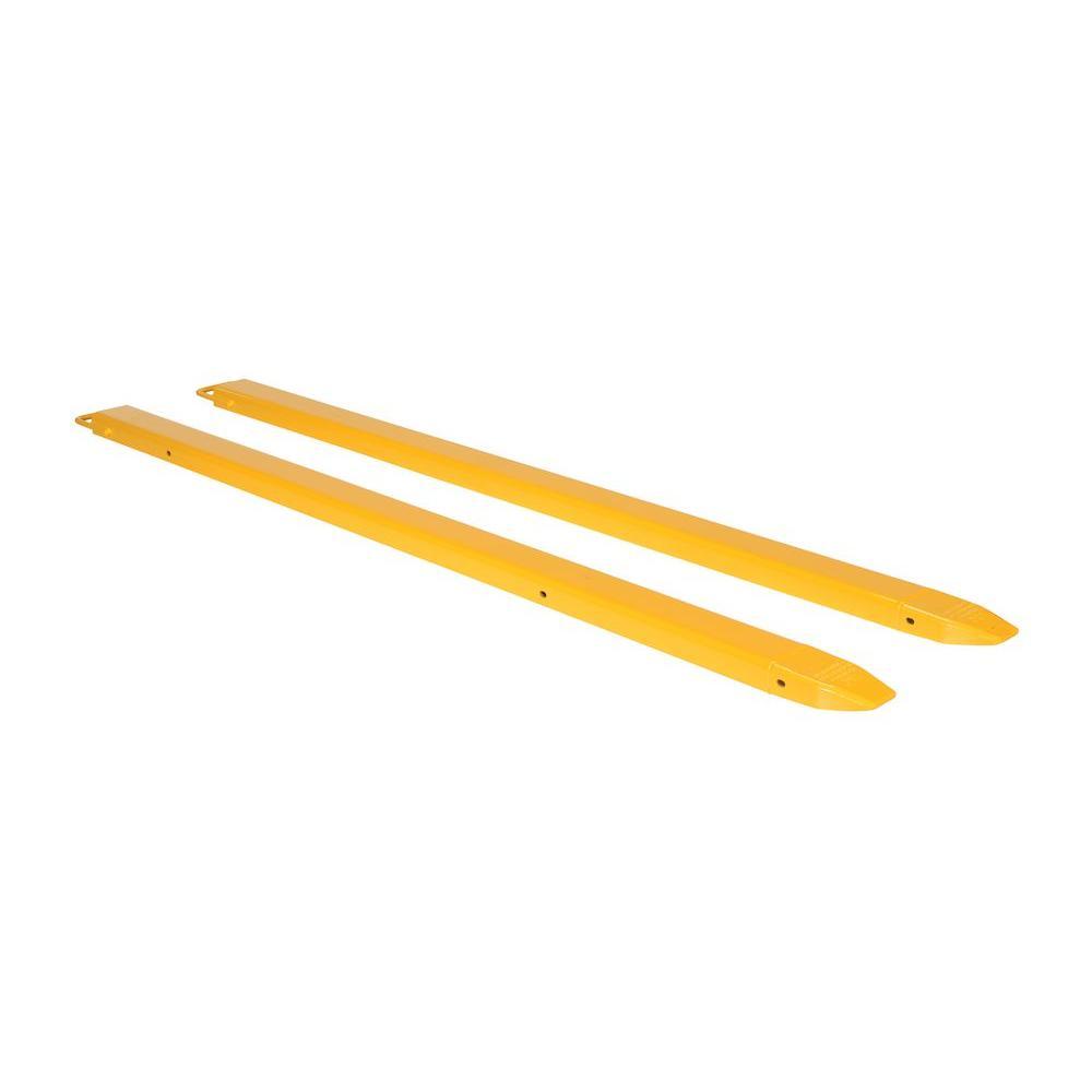 "Forklift Fork Extensions - 4"" W x 84 L"""