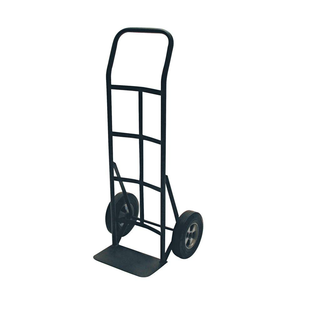 "Hand Truck - 2-Wheel Solid Tires 8"" - P Handle (600 lb)"