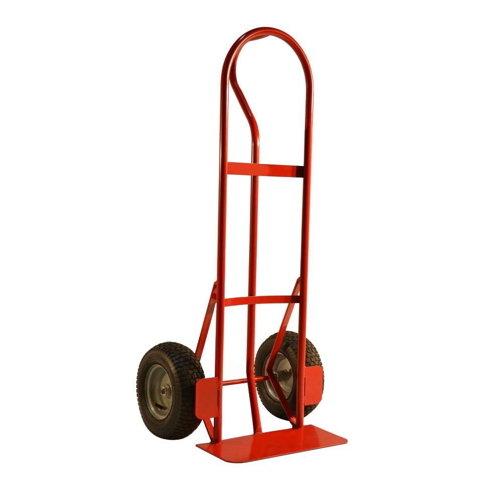 "Hand Truck - P-handle with Pneumatic Tires 10"" (600 lb)"
