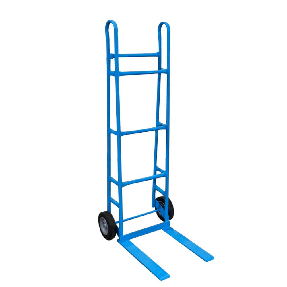 """Steel Bread Cart - 22"""" Wide Forks, 8"""" Rubber Wheels"""