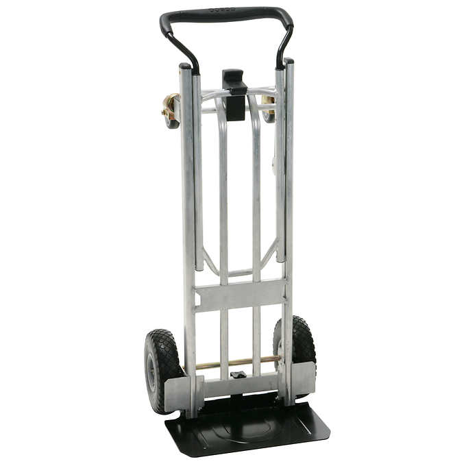 "Hand Truck - Aluminum/Steel - Foldable - 7"" Wheels (220 lb)"