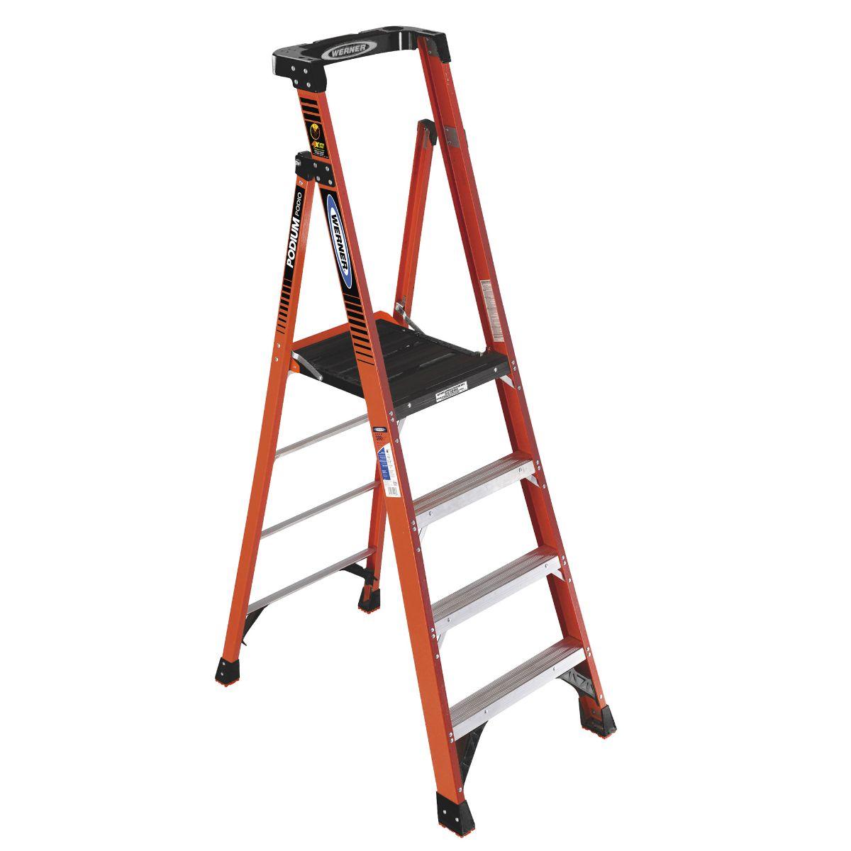 Platform Ladder - 10' Reach