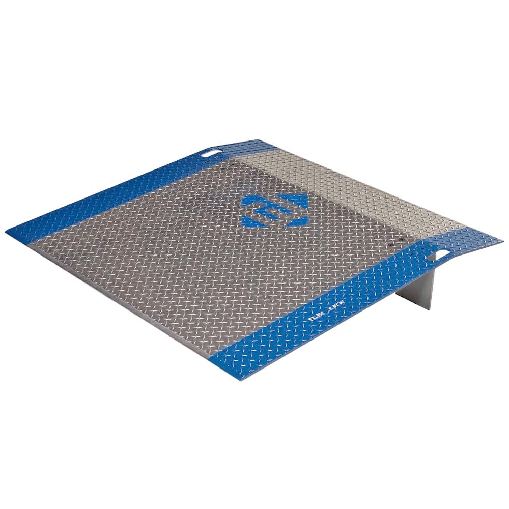 """Dock Plate - Aluminum Light Duty - 48""""x48"""" (900 lb capacity)"""