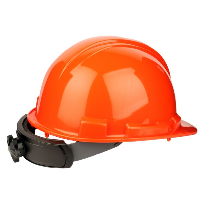 Hard Hat - Rachet adjustable - Orange, Part#: HP241R-03