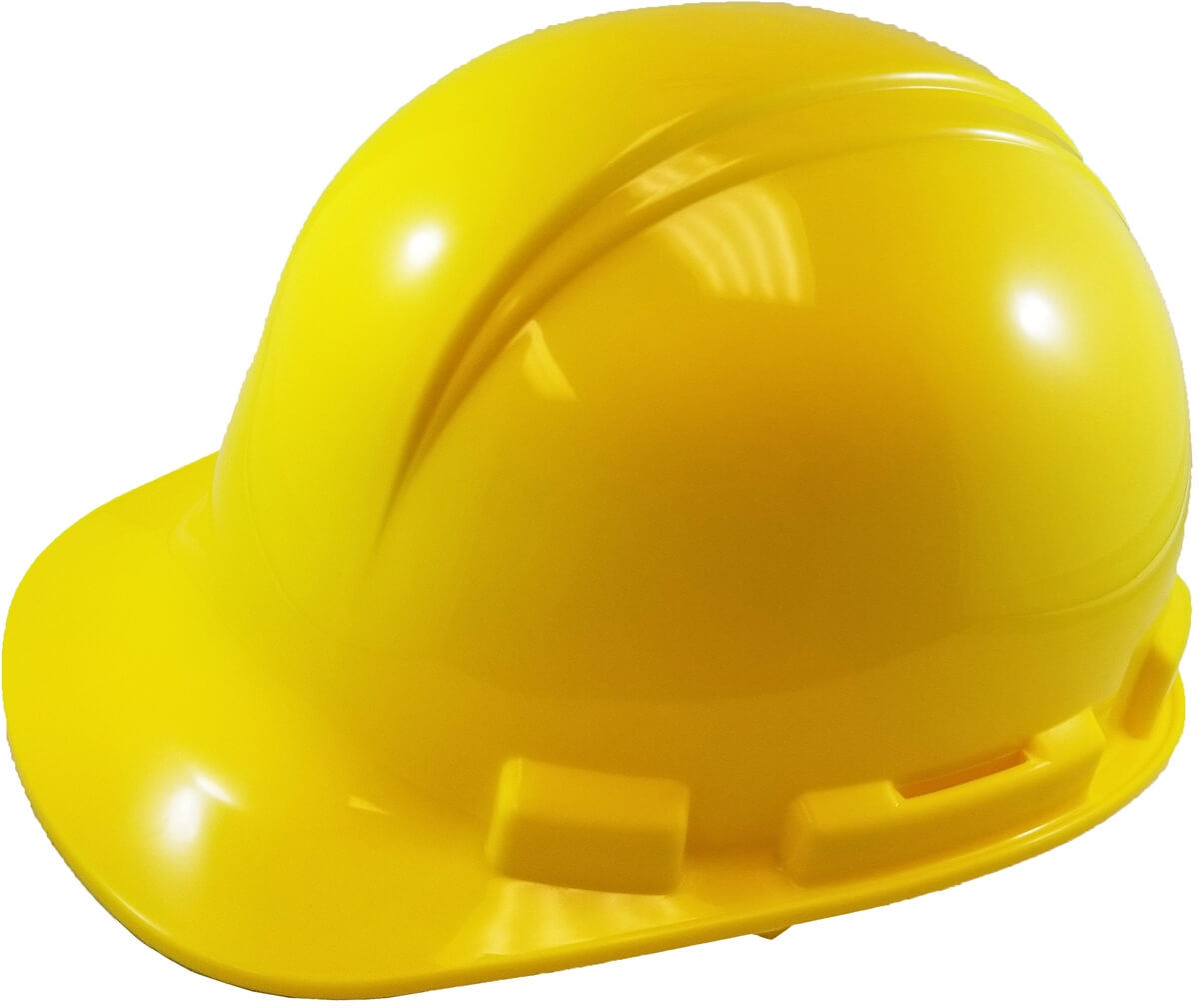 Hard Hat - Ratchet - Yellow, Part#: HP241R-02