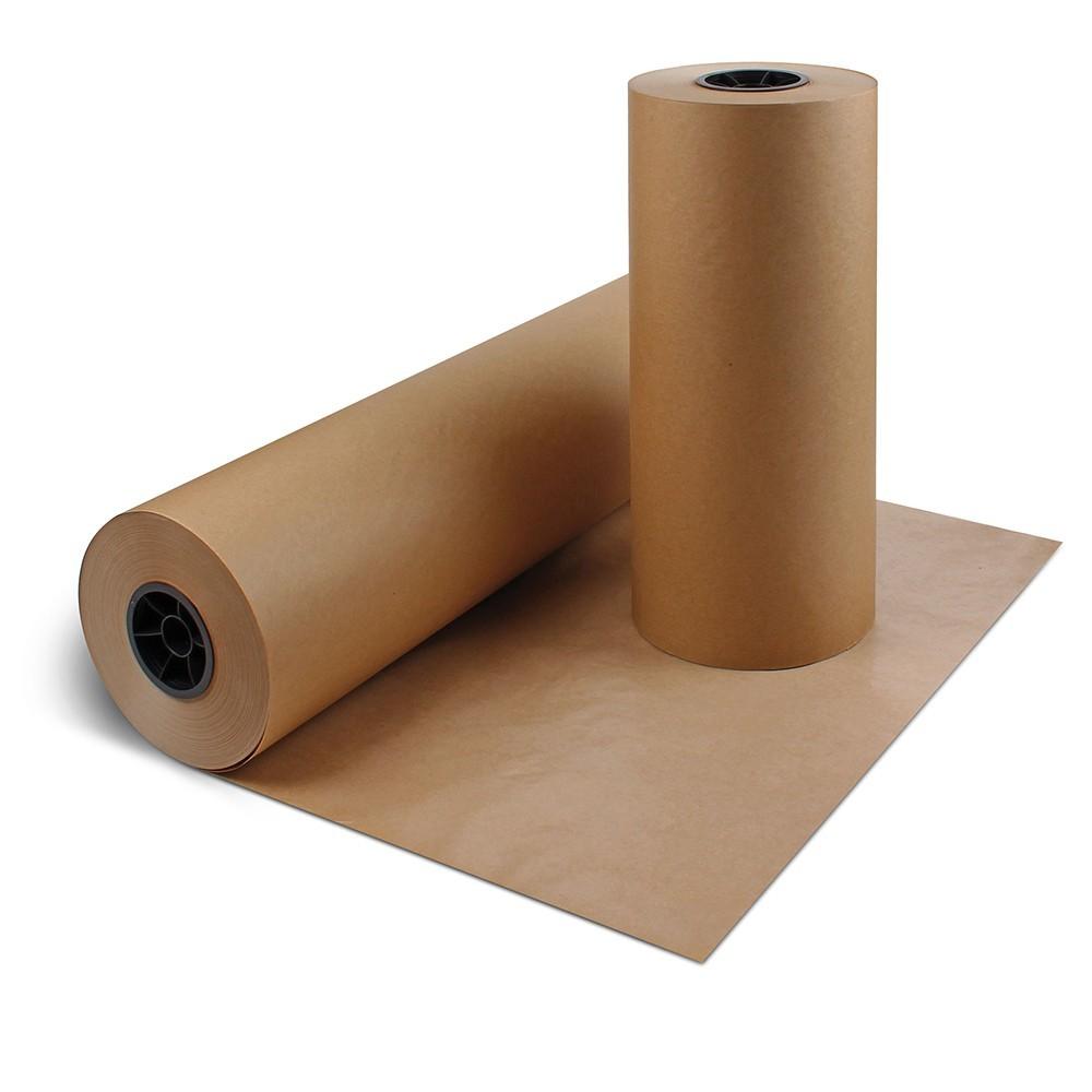 """Kraft Paper - 60"""" x 60lb, 500' roll"""