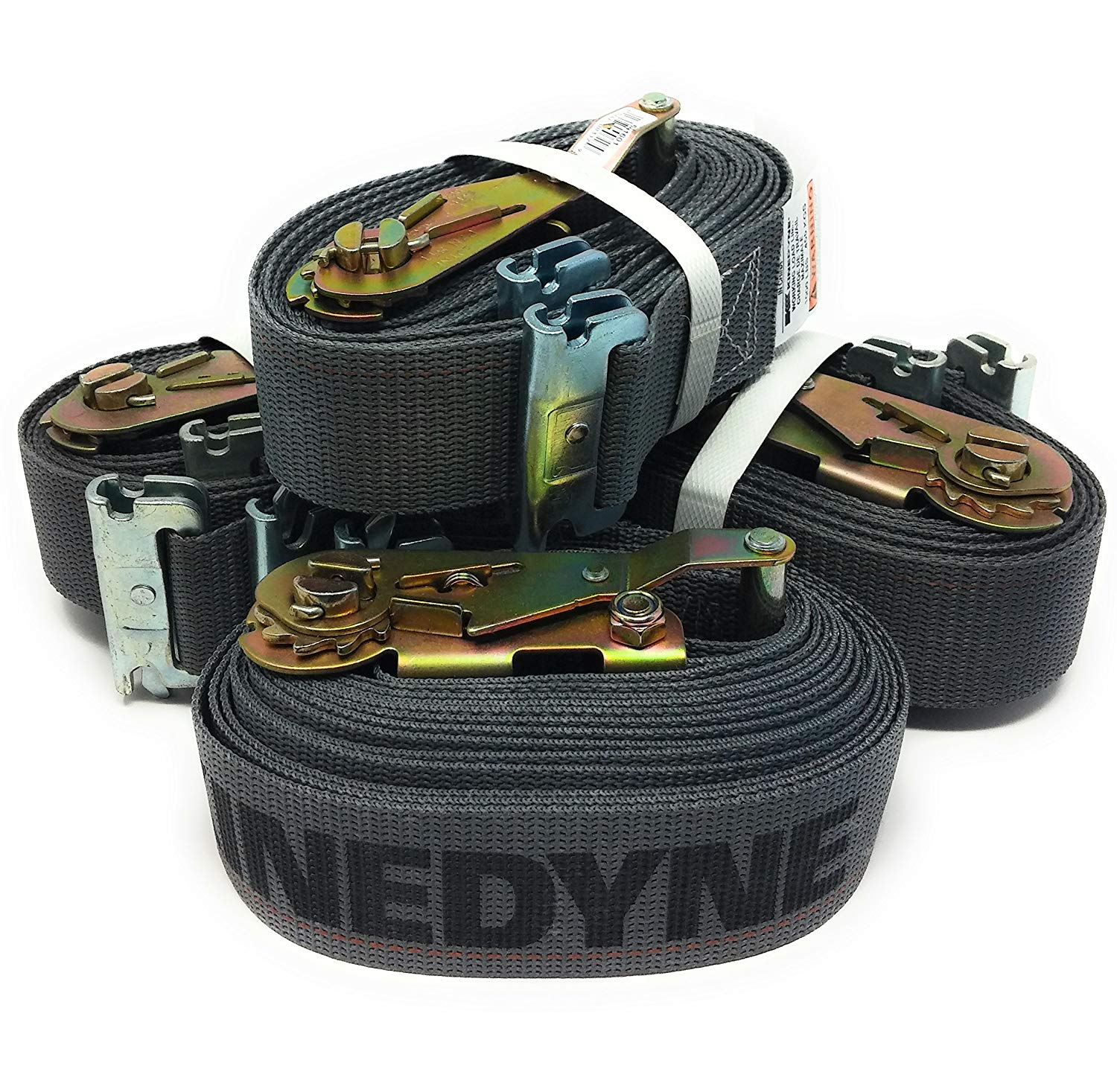 """Load Straps - E-track ends with cam buckle - 2"""" x 16'"""