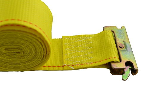 """Cargo Straps - w/ eTrack with ratchet on one end - 2"""" x 26"""""""