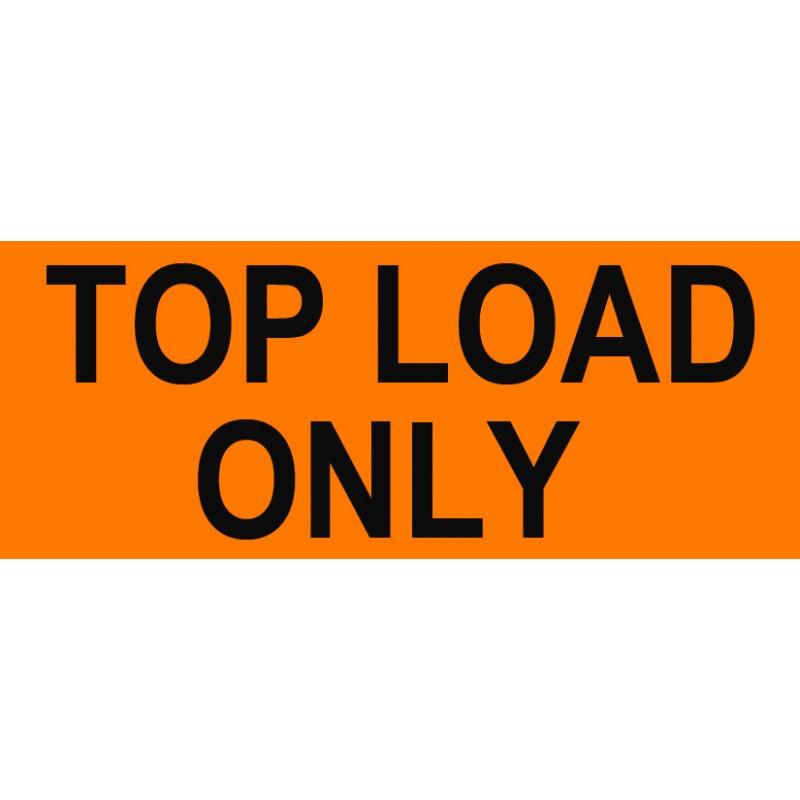 """Labels - Top Load 2""""x 5"""""""