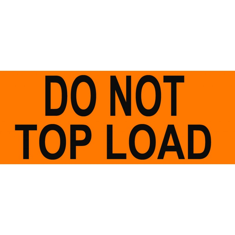 "Labels - Do Not Top Load - 2"" x 5"""