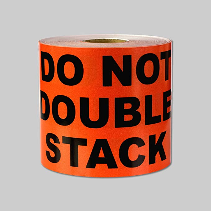 "Labels - Do Not Double Stack - 8 1/2"" x 11"""