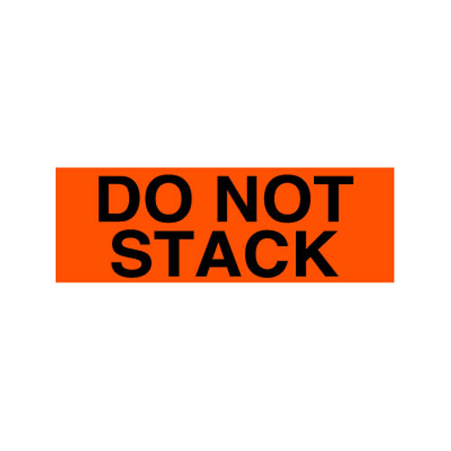 "Labels - Do Not Stack - 4"" x 8"""
