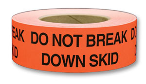 "Labels - Do Not Break Down Skid - 2"" x 5"" (500/roll)"