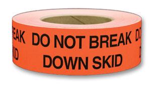 """Labels - Do Not Break Down Skid - 2"""" x 5"""" (500/roll)"""