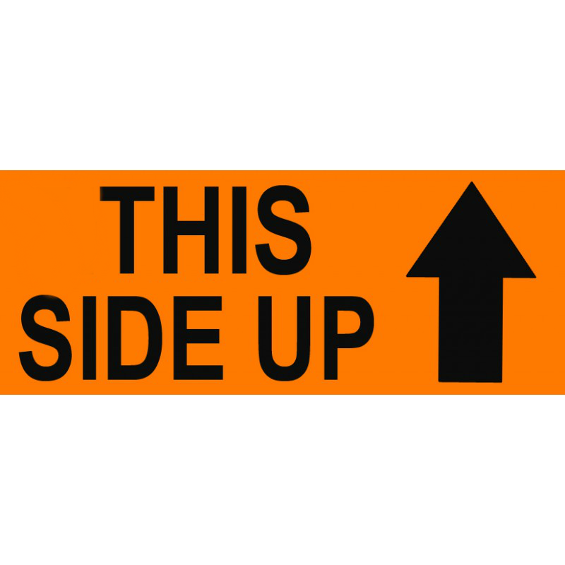 Labels - This Side Up (With Arrows)
