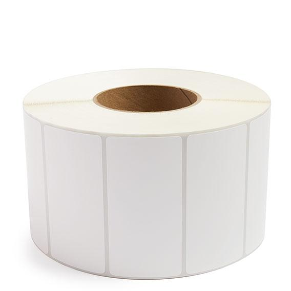 """Labels - Thermal Transfer White - Blank - 3 Core - 4"""" x 2.5"""""""