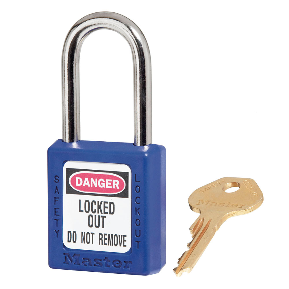 Lock-Master Lock Out Model #410 - Blue