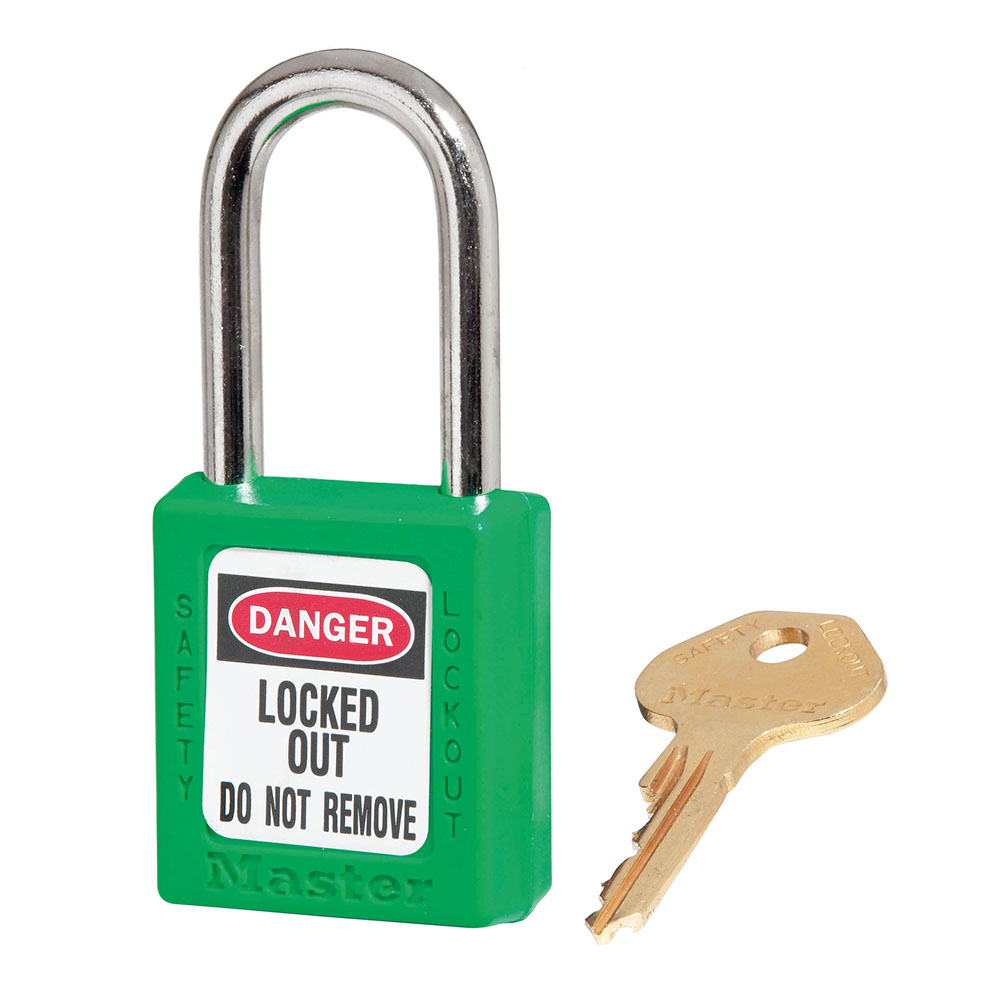 Lock-Master Lock Out Model #410 - Green