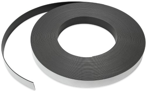 """Magnetic Strips - White - 1"""" (50""""' roll)"""