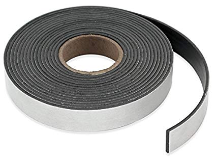"""Magnetic Strips - 1"""" x 3"""" x 100' (400/roll)"""