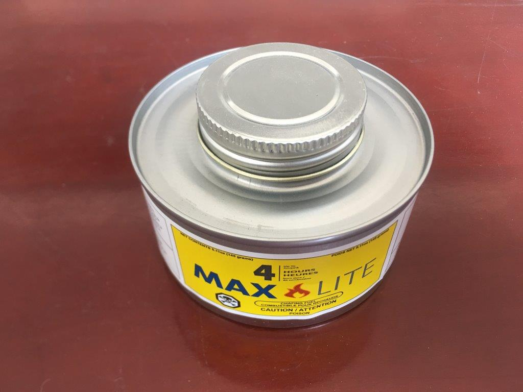 MAX LITE - Chafing Fuel - 4 Hour (24 cans/cs)