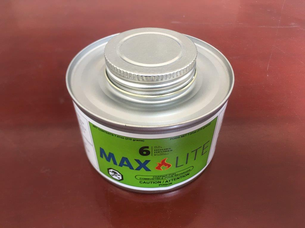 MAX LITE - Chafing Fuel - 6 Hour (24 cans/cs)