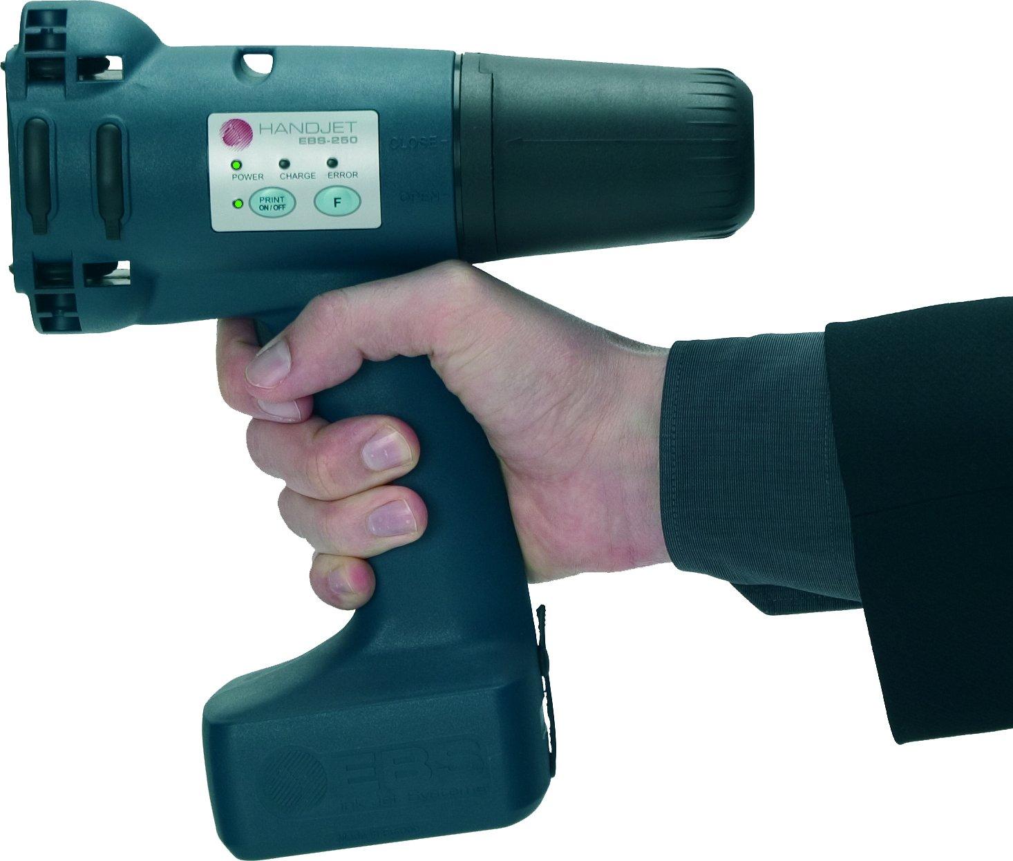EBS Handjet 250 Ink-Jet Printing Gun -30 Msg System-Handheld