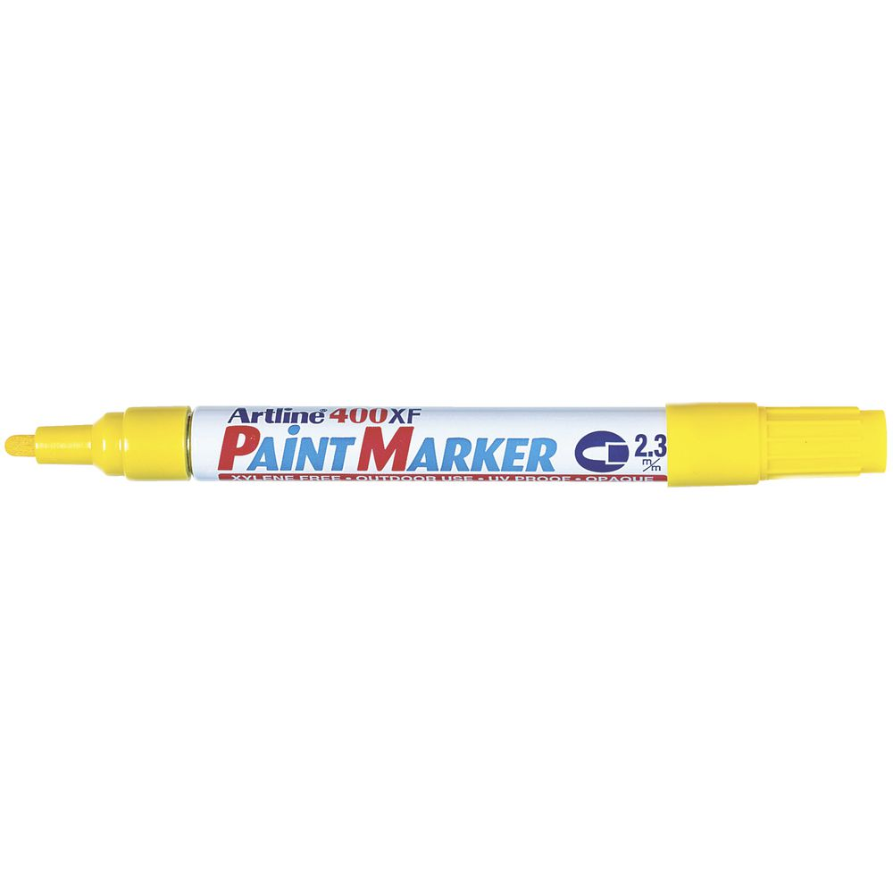 Paint Markers - Artline - Yellow
