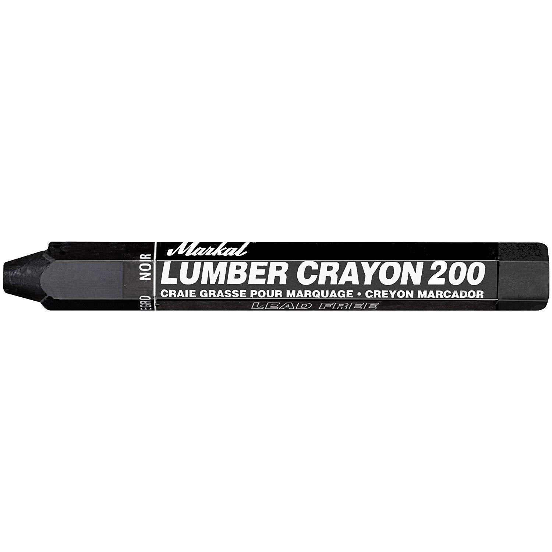 Lumber Crayon Carbon - Black