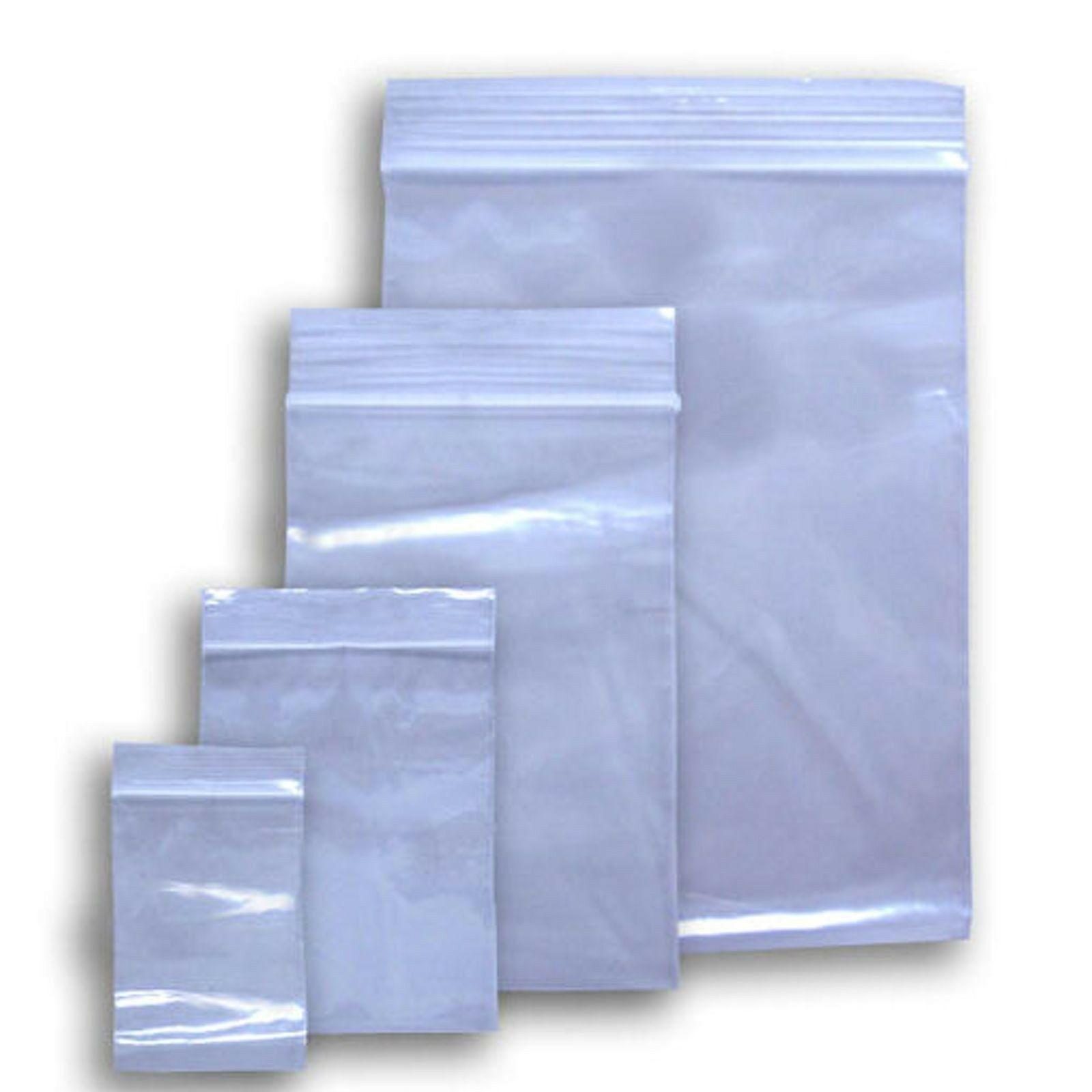 """Reclosable Poly Bag - 8"""" x 10"""" - 4 mil (1000 /cs)"""