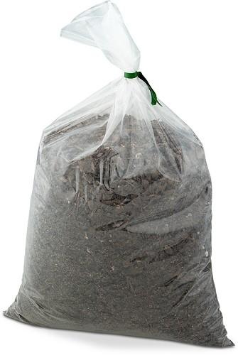"Soil Bag - Clear - 18"" x 30"" - 6"" mil (150/cs)"