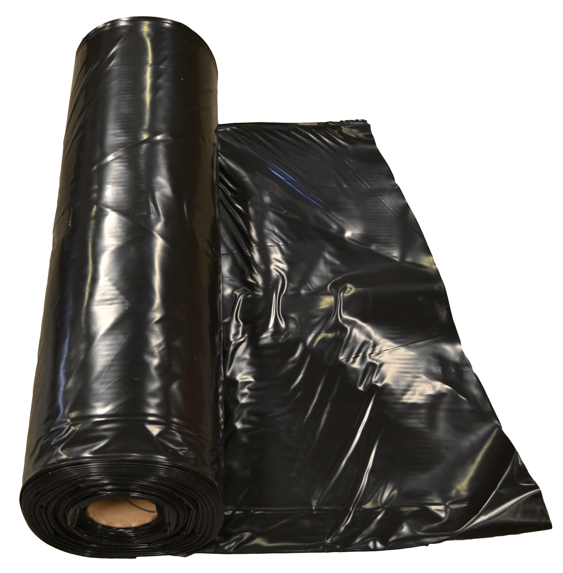 Poly Sheeting - Black - 10' x 100' - Medium