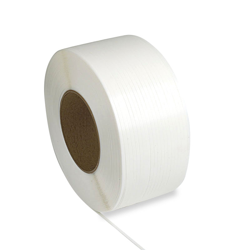 """Plastic Strapping - 3/8"""" (9mm) - 9 mm x 12900', 8"""" x 8"""" Core"""
