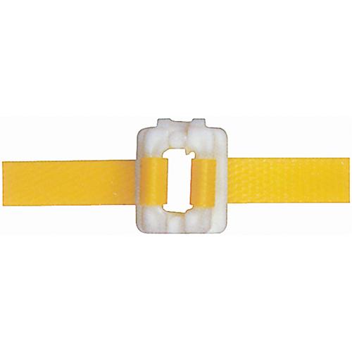 "Plastic Buckles - 1/2"" - White (1000 /b)"
