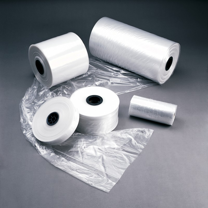 "Poly Tubing - 8"" x 4 mil (50 lbs / roll)"