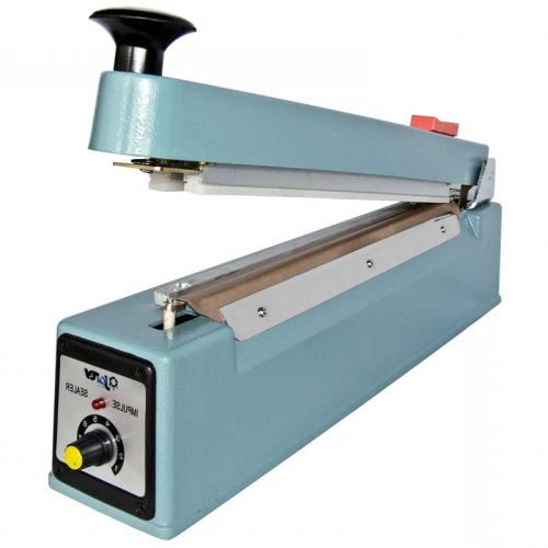 "Heat Sealer - KF 300C - 12"" - With Cutter Bar"