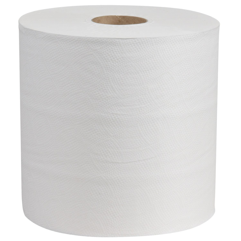 "Paper Towel Roll - Premium - White - 8"" x 800' (6/cs)"