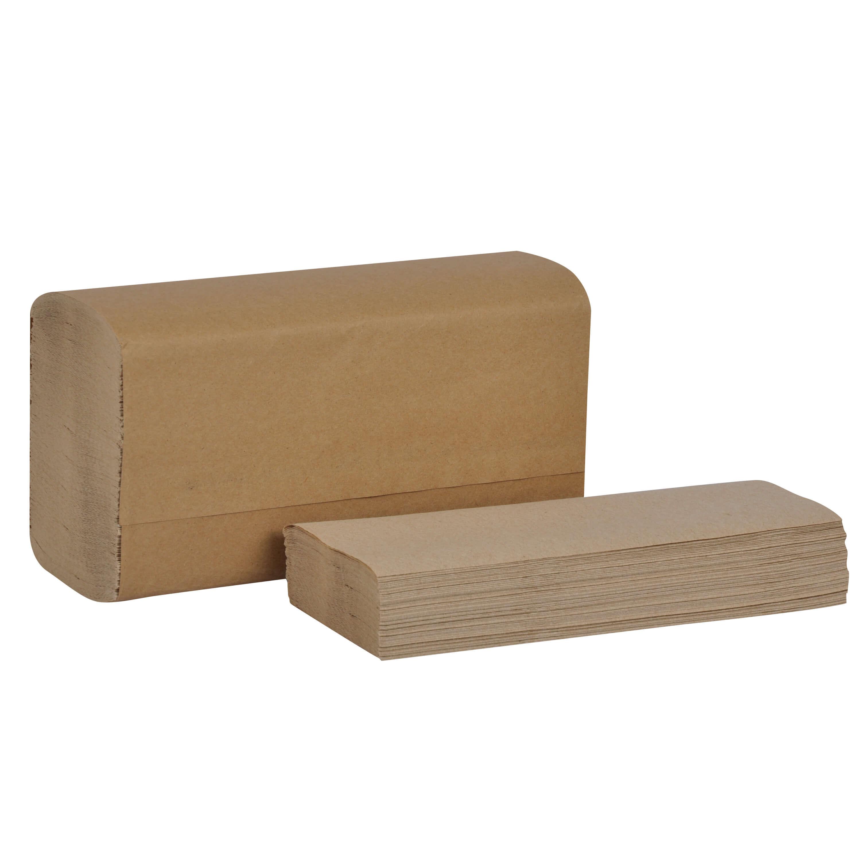 Paper Towel - 1 Ply Kraft Brand Multi-fold Hand Towel - Natural (16/cs)