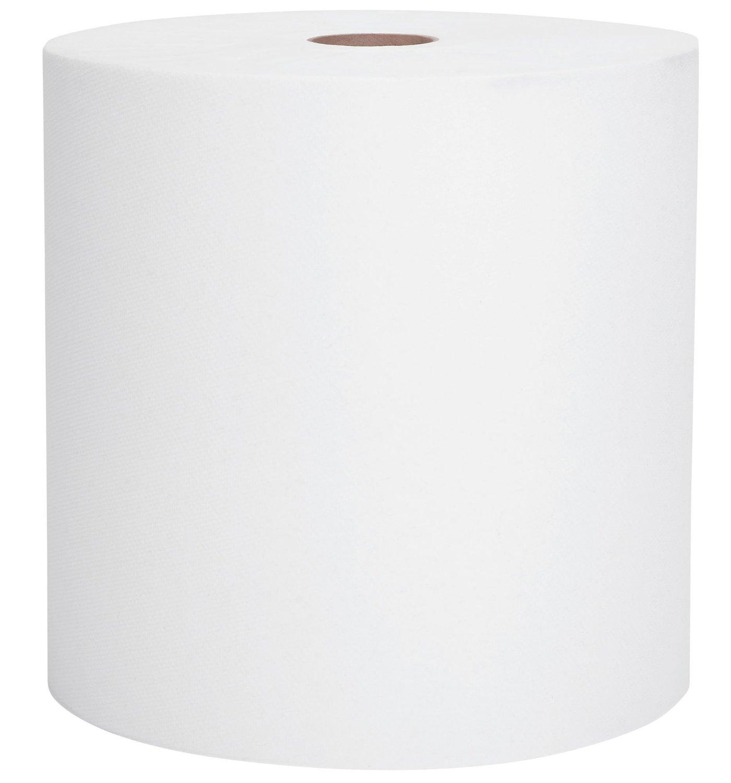 "Paper Towel - White Roll Towels - 8"" x 800' (12/cs)"