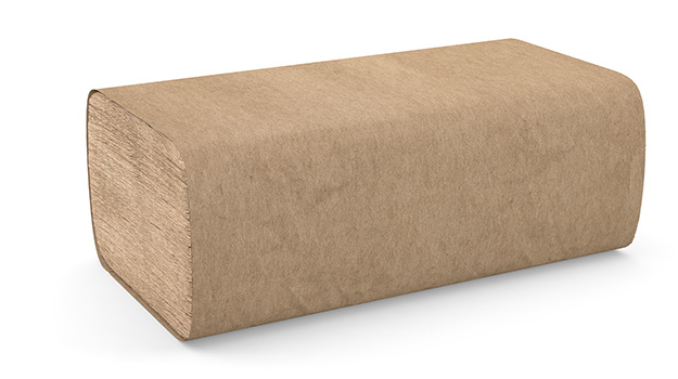 Paper Towels - Single Fold - Natural (4000 sheets/case)