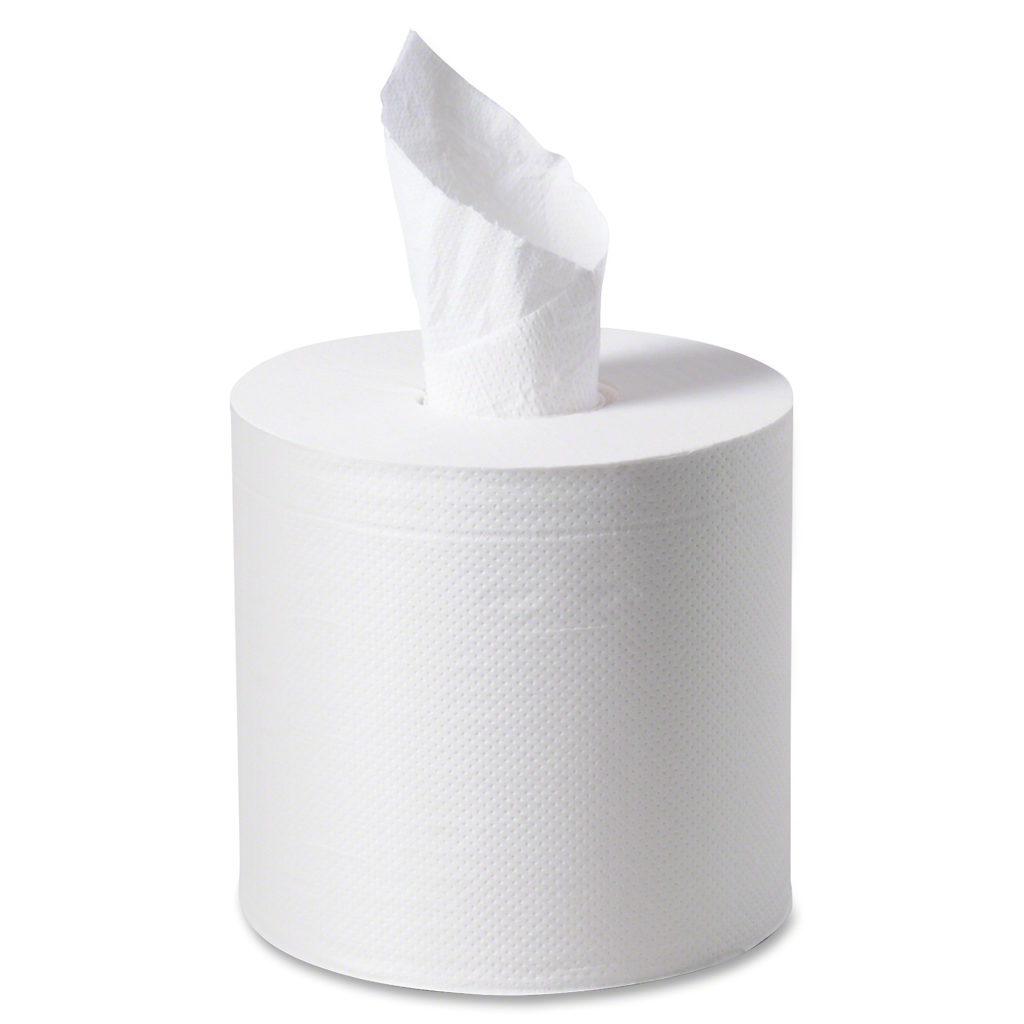 """Paper Towels - Center Pull - 8"""" 2 ply 01322- 6 x 600'"""