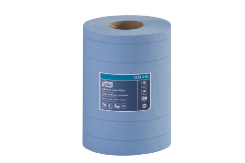 Wiper Tork Centre Pull - Blue