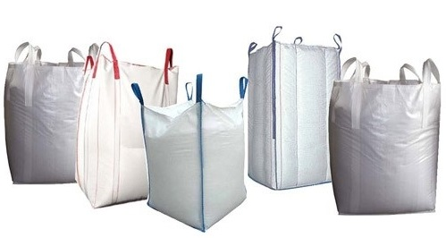 "Poly Woven Tote Bags - USED - 37"" x 37"" x 60"""