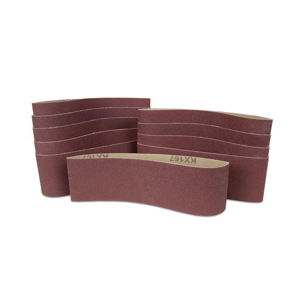 Sanding Belt - 120 Grit. - 1 x 42 (20/pack)