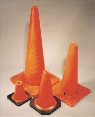 Safety Cones - 6 wide - 50""