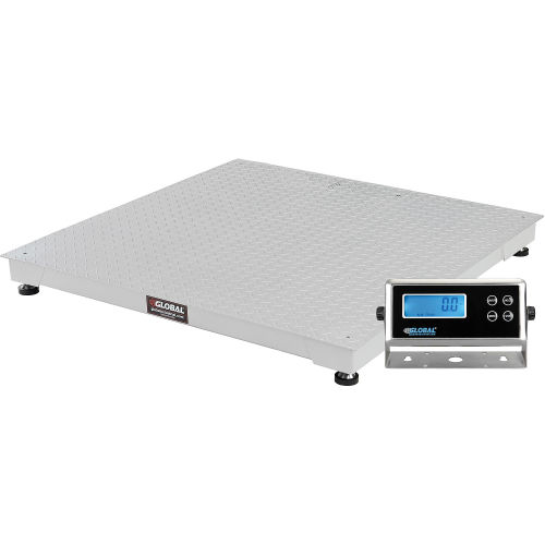 "Low Profile Pallet Scale - 48"" x 48"" x 4"" (5000 lb capacity)"