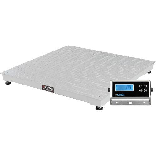 """Low Profile Pallet Scale - 48"""" x 48"""" x 4"""" (5000 lb capacity)"""