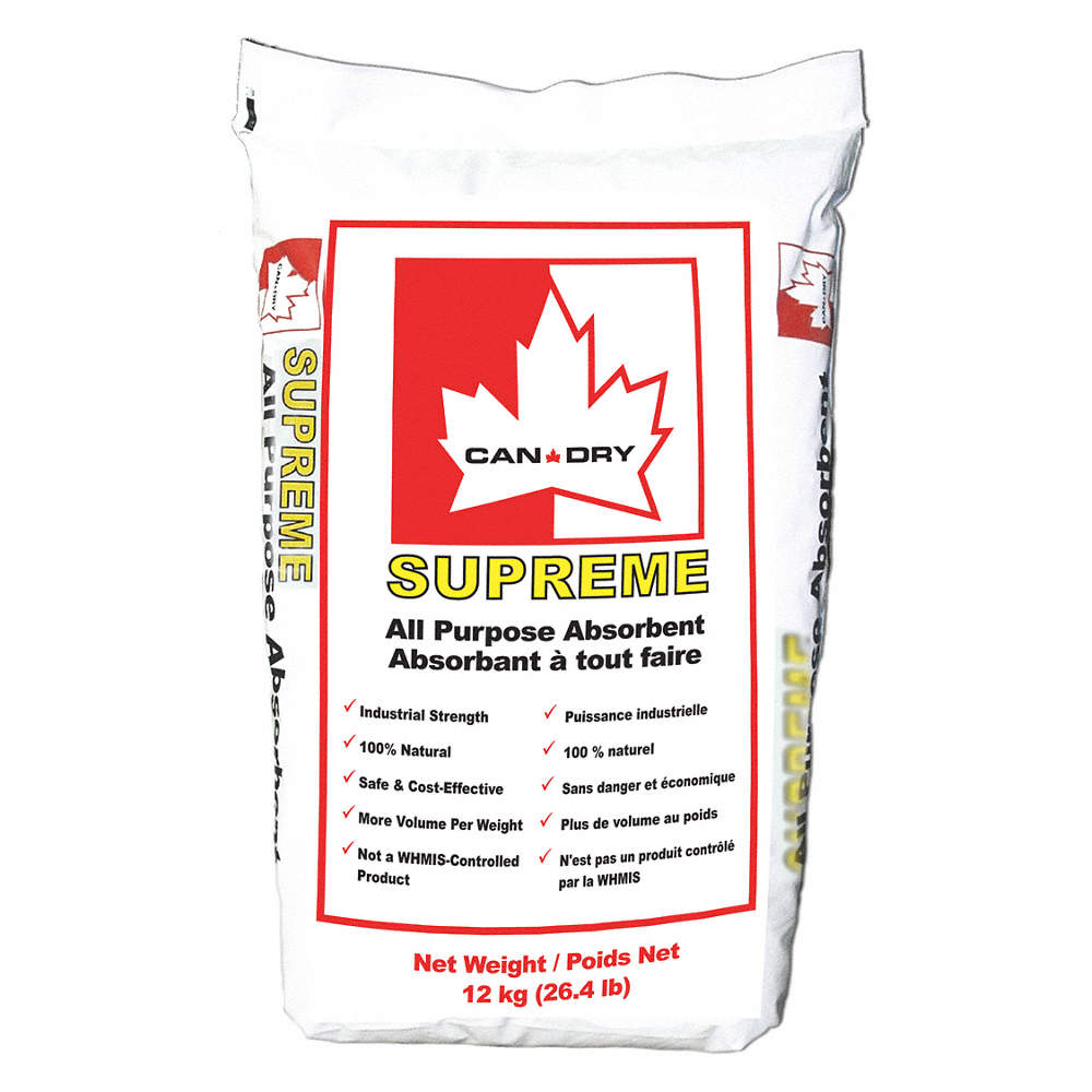 Can Dry Industrial All-Purpose Absorbent - 36lb bag