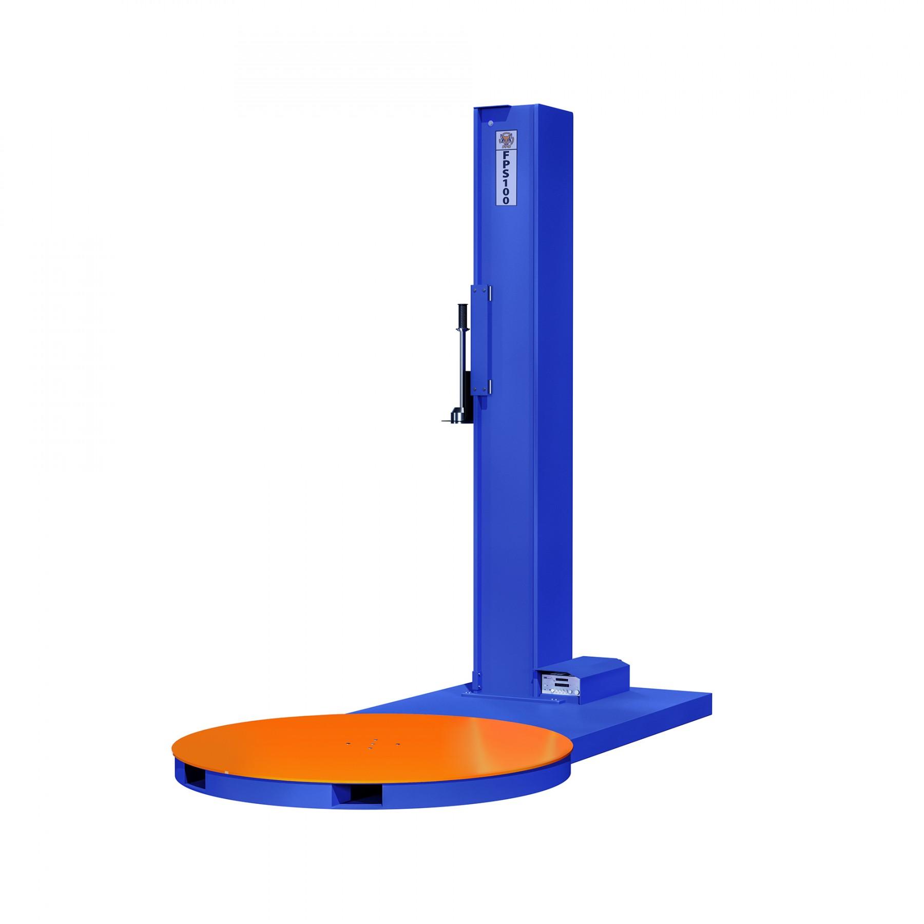 Stretch Wrapper - FOX FPS 100 Manual Low Profile Pallet Wrapper - 5000lb Capacity