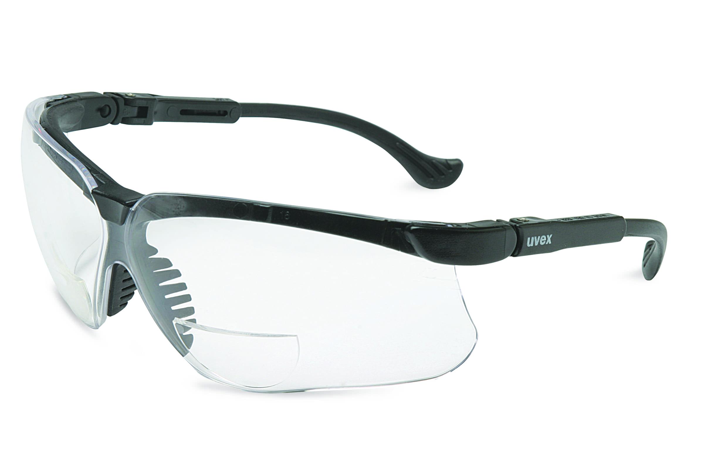 Uvex Genesis Glasses Magnifier + 1 Black Frame
